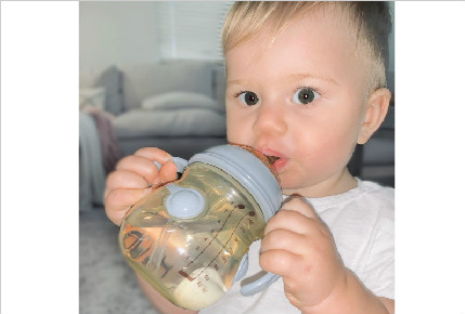 He loves it ! Seriously the only bottle he will drink from!