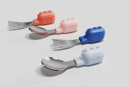 Baby Fork And Spoon Set